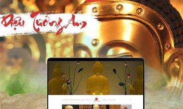 Thiết kế website - Thiết kế web Diệu Tướng Am