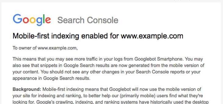 Google tuyên bố ưu tiên nội dung website trên thiết bị di động. 1