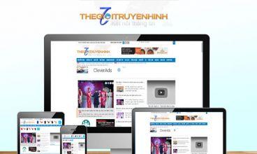 Thiết kế website - Thế giới truyền hình