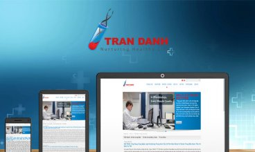 Thiết kế website - Thiết kế web Thiết bị Y tế Trần Danh