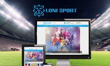 Thiết kế website - Loni Sport