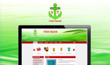 Thiết kế website - Nhựa Vĩnh Thành